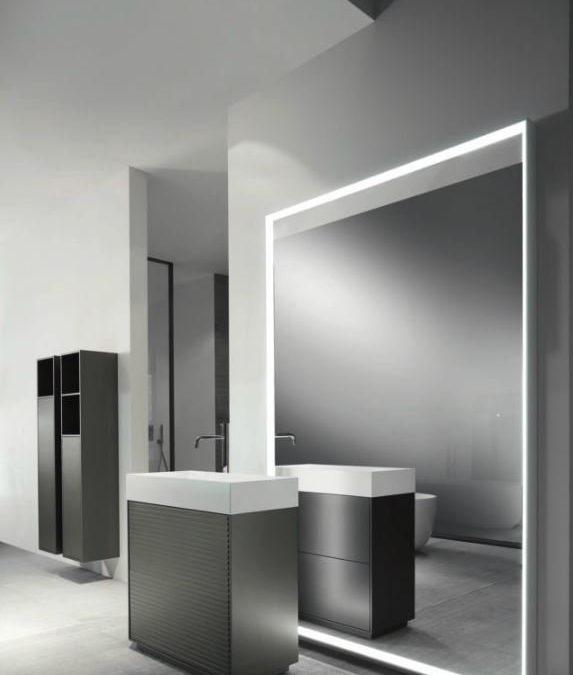 Bagno moderno grigio a Varese: le proposte di Tozzi Style