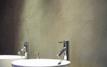 Bagno senza piastrelle o bianco e nero Gallarate